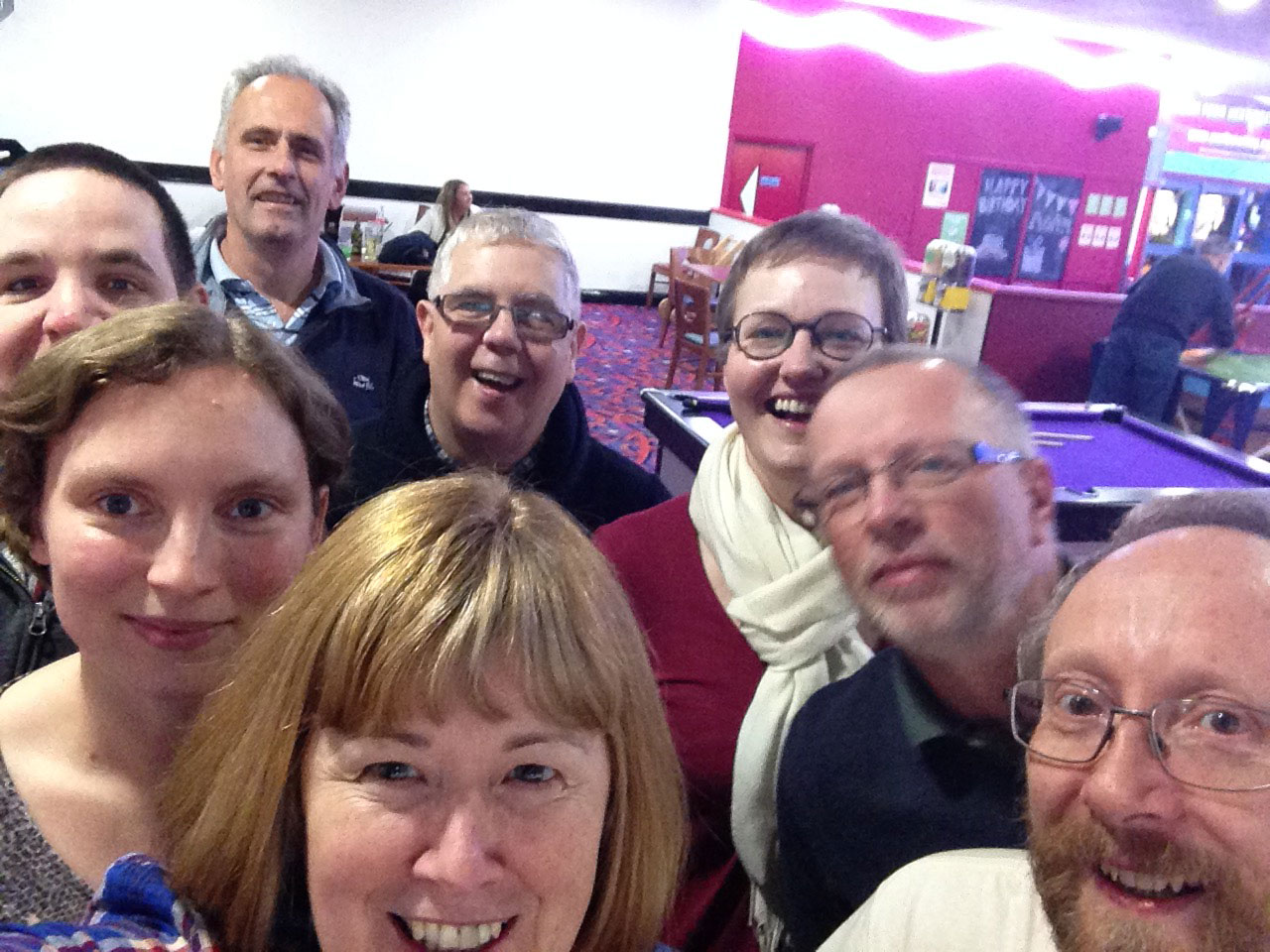 Path of Renewal ministers take a selfie at a training event