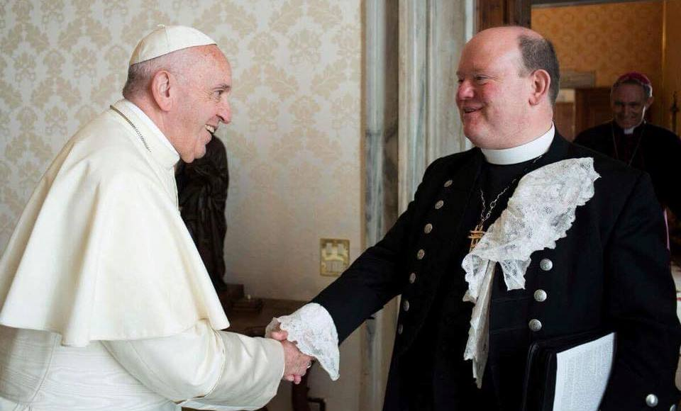 The Moderator with Pope Francis