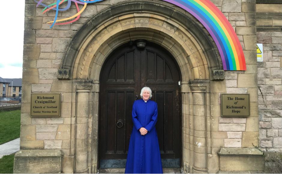 Rev Liz Henderson, minister of Richmond Craigmillar Church