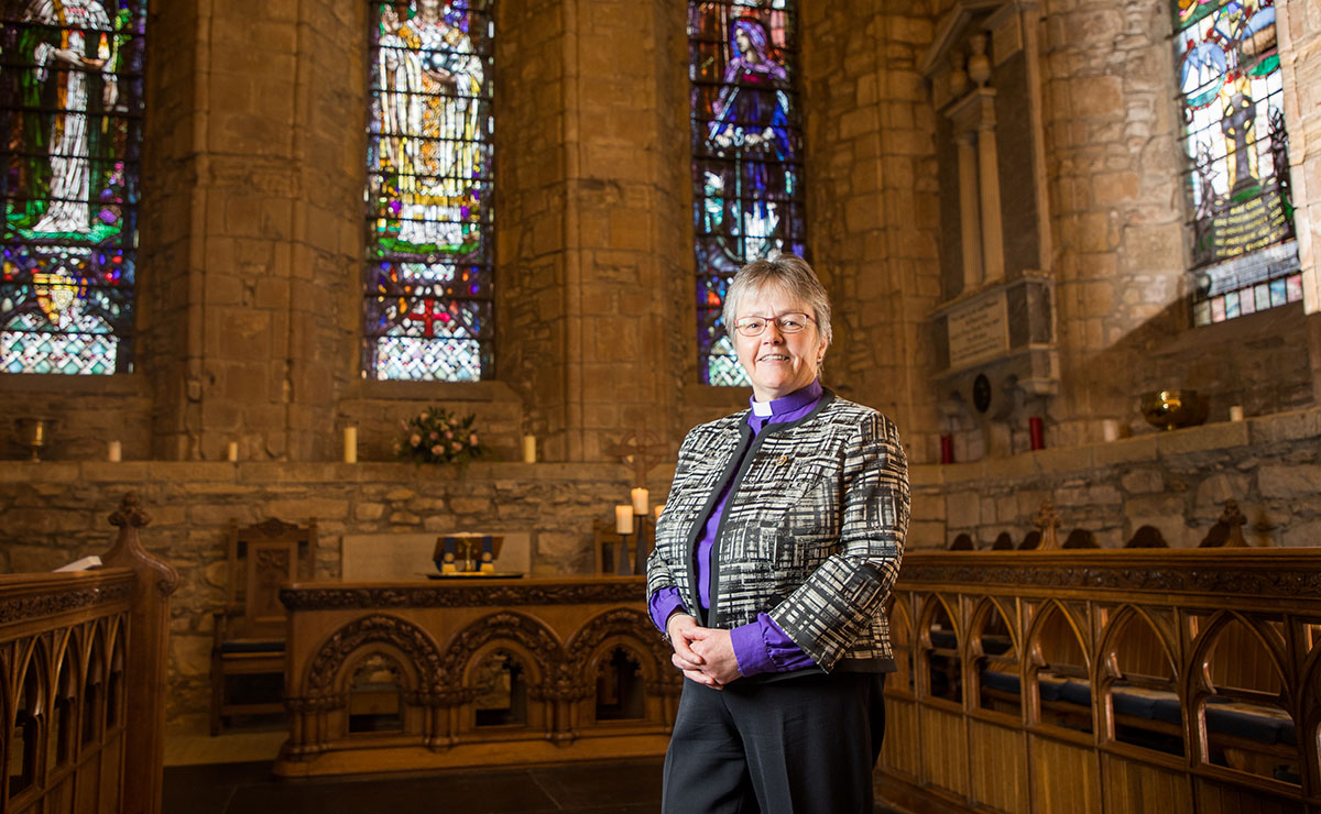 The Moderator of the General Assembly of the Church of Scotland, Rt Rev Susan Brown