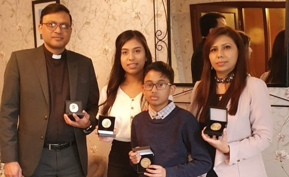 Raheel Arif and family