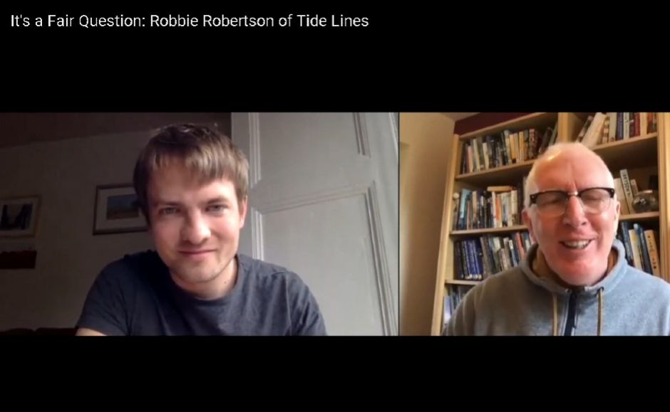Robert Robertson in conversation with Rt Rev Dr Martin Fair, the Moderator of the General Assembly of the Church of Scotland