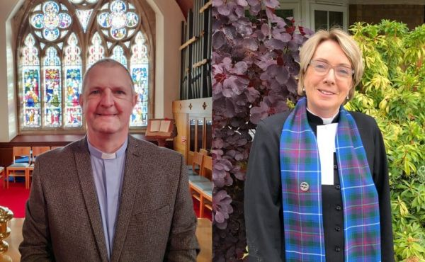 Rev Dr David Hume and Rev Beverley Stevenson