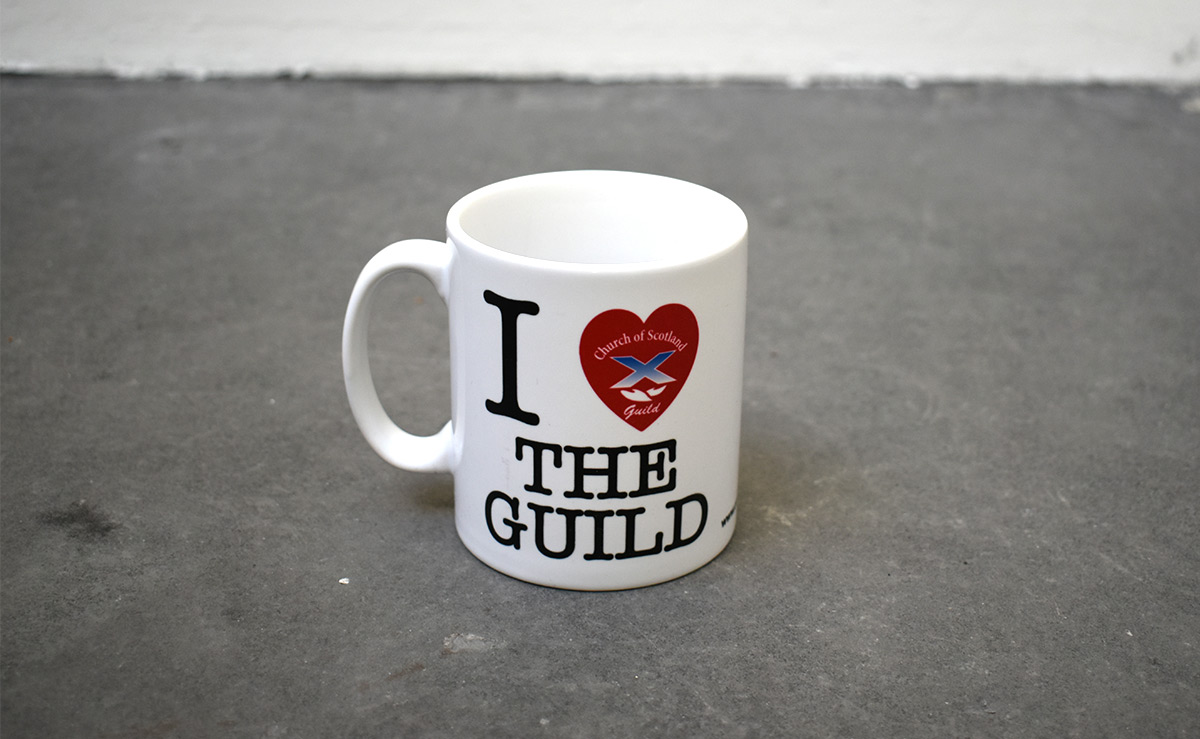 i love the guild mug