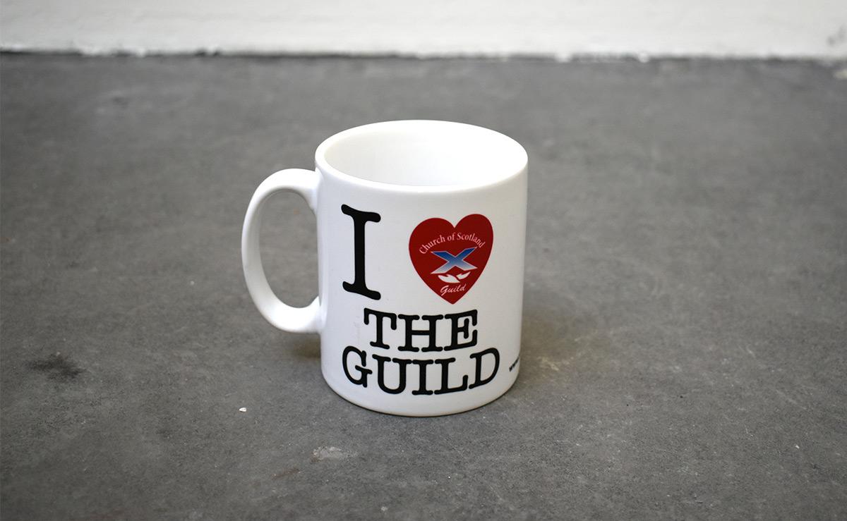 i love the guild mug
