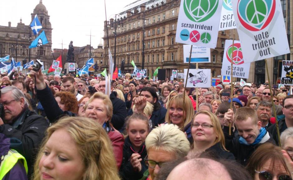 Rally against Trident