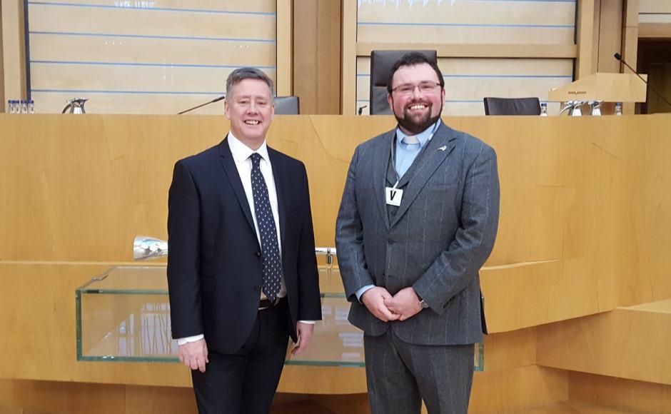 Dan Harper and Keith Brown