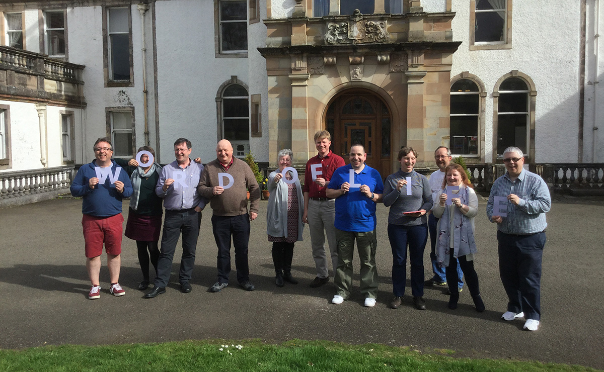 Some of the Path of Renewal ministers attending a training event at Gartmore House
