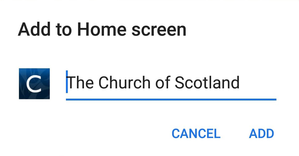 Church of Scotland icon