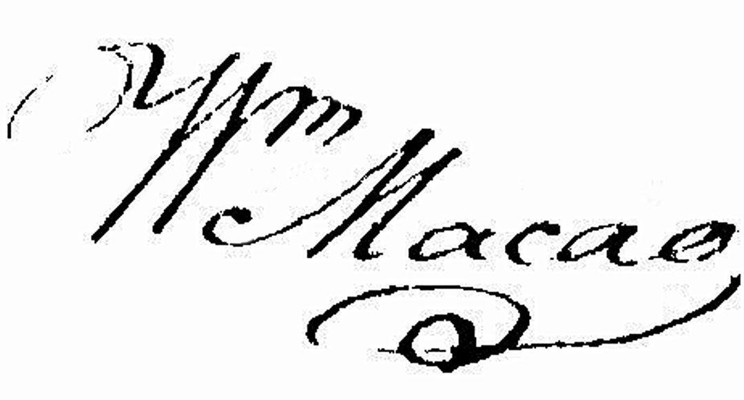 William Macao