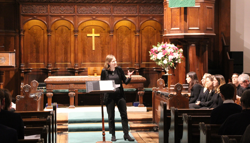 Church member and musician Mary-Jannet organsied the competition