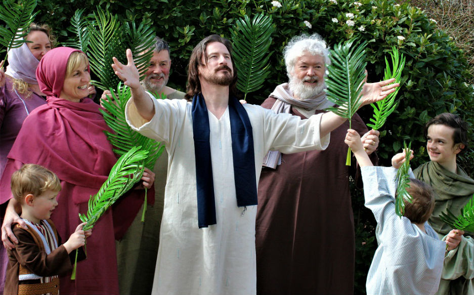 Drama Kirk use innovative ways to encourage people to engage with the Bible and each year produce a Passion Play.