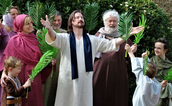An image from last year's Passion Play