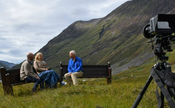 Take a Pew filmed in Glencoe
