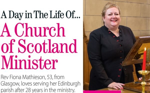 Rev Fiona Mathieson featured in No1 magazine