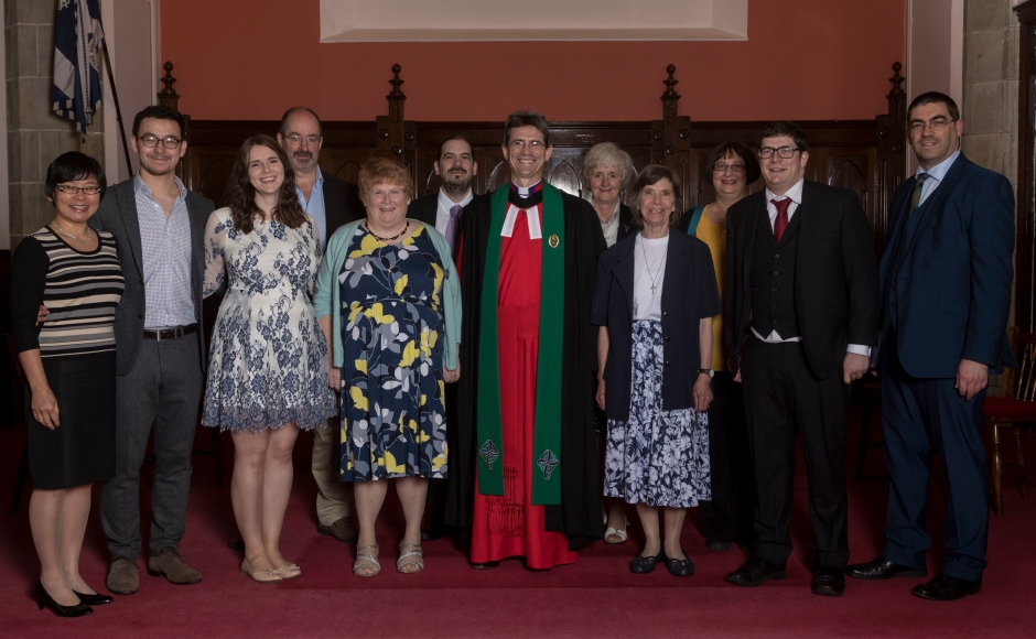 Rev George Cowie and his family