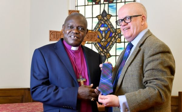 Rev Dr John McPake and the Archbishop of York