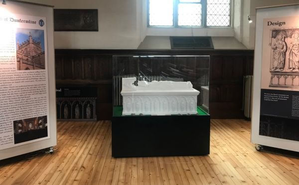 Model of Tomb of Bruce