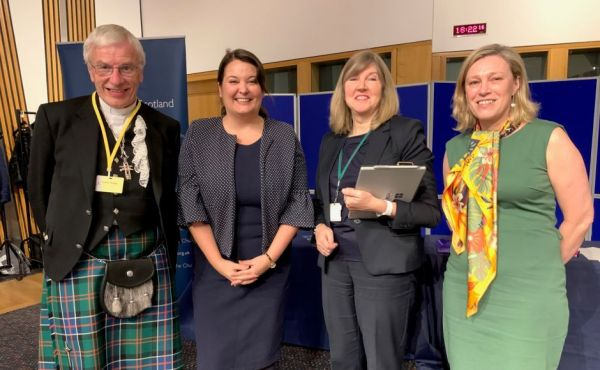 The The Moderator with members of the Scottish Parliament