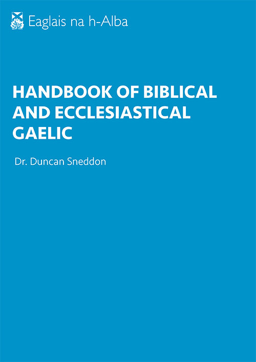 Gaelic handbook cover