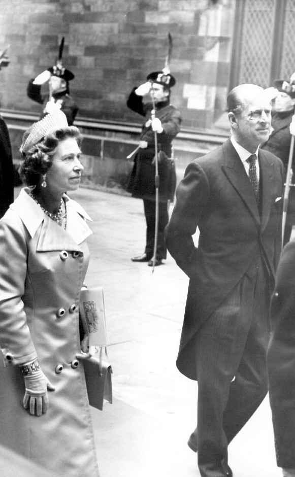 The Queen and the Duke of Edinburgh attended the General Assembly together in 1969 and 2002