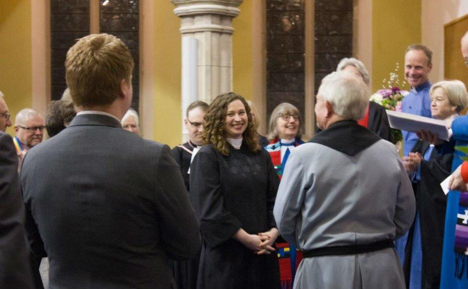 Rev Tara ordination and induction