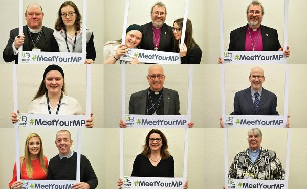 Some of our church leaders and young representatives show their support for the Meet Your MP project