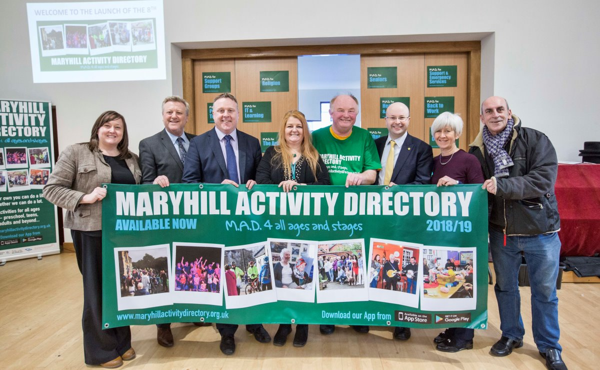 Maryhill Parish Church Activities Directory