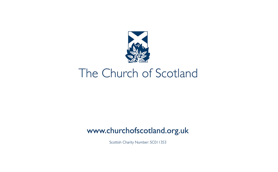 Church of Scotland presentation template