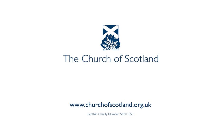 Church of Scotland presentation template
