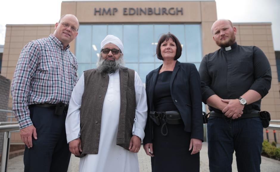 Chaplains at HMP Edinburgh