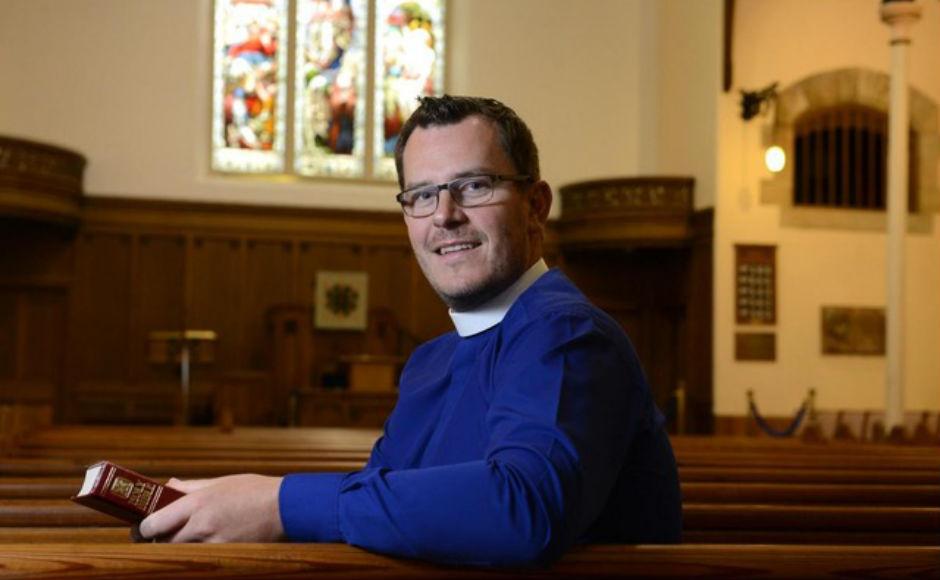 Rev Gary Noonan. Photo by James Chapelard