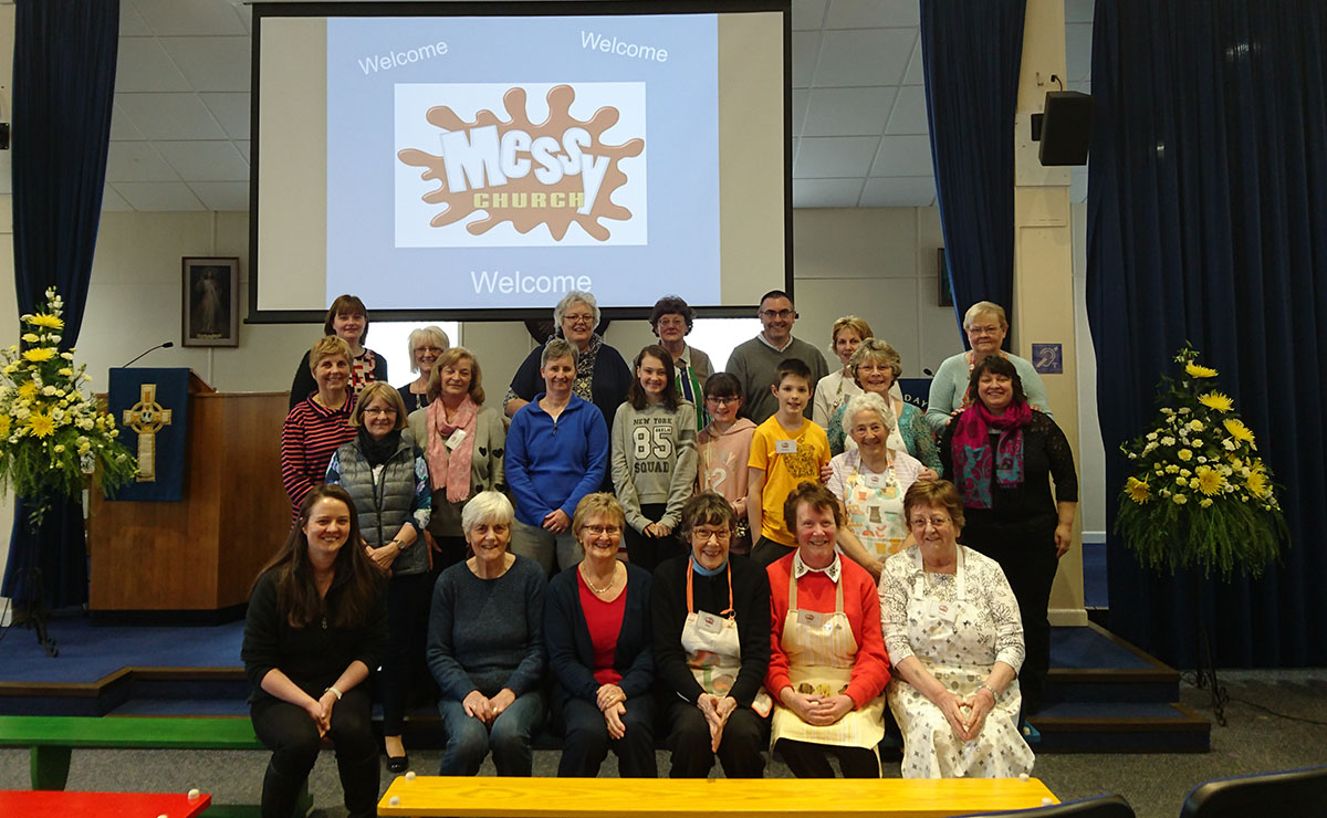 Skene Parish Church's Messy Church project