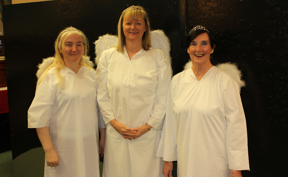 Some of the angels taking part