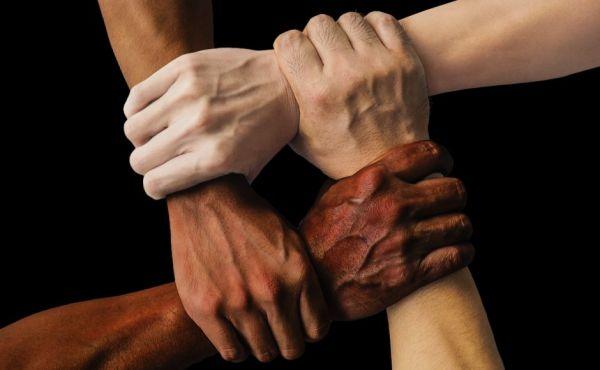 diveristy image of hands