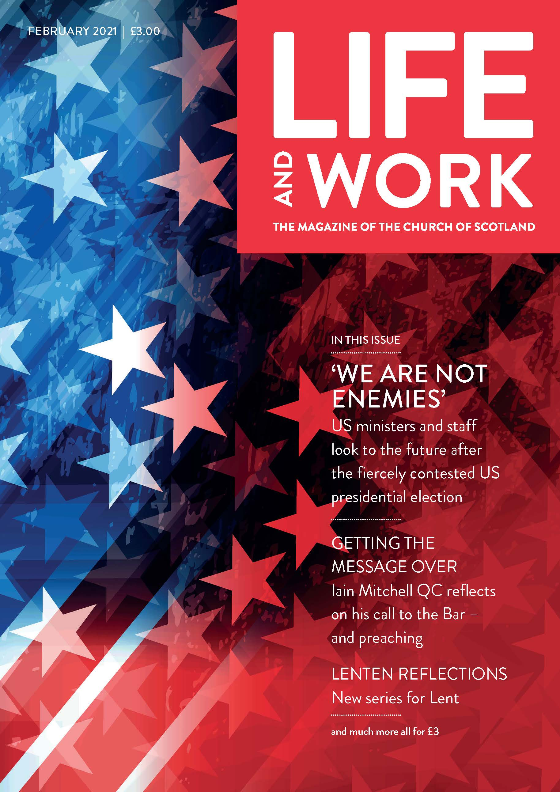 Life and Work February 2021 Cover