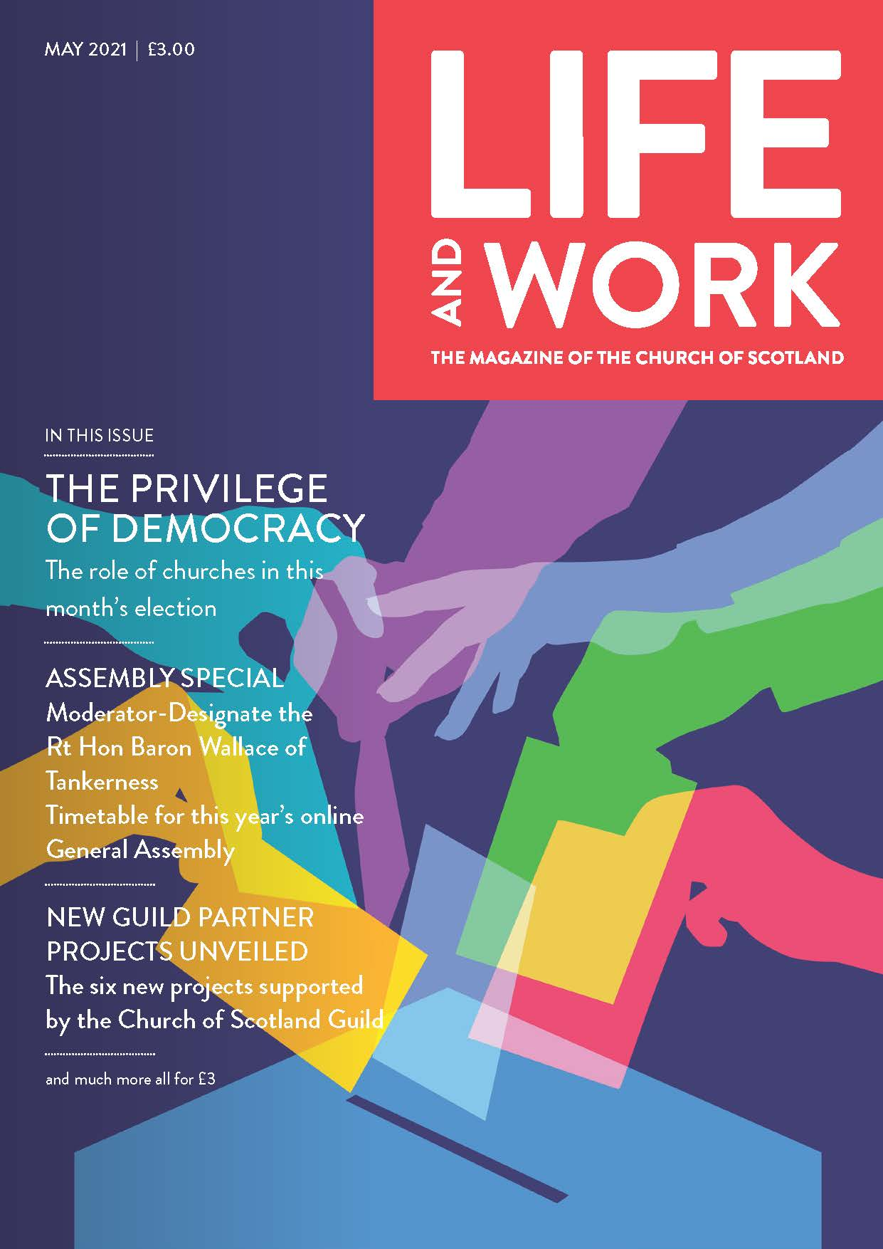 Life and Work May 2021 cover
