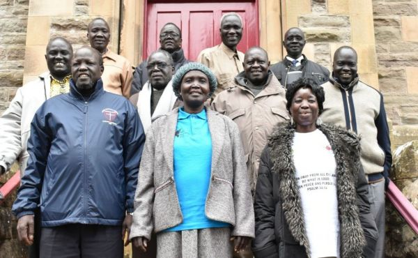Pastors from South Sudan
