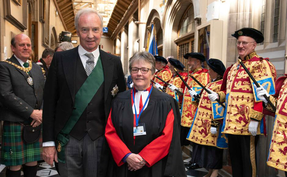 Lord High Commisioner and Right Rev Susan Brown