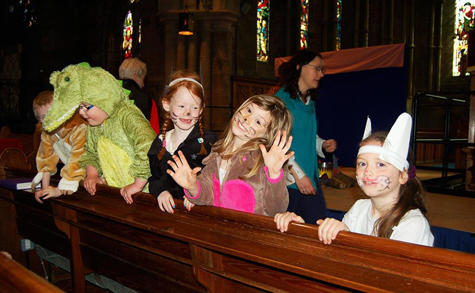 Brechin Cathedral storytellers