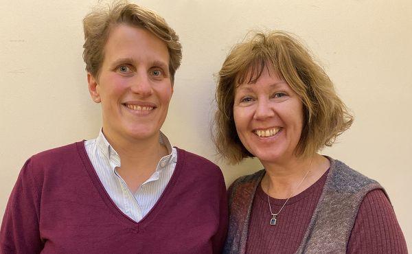 Rosie Magee and Verena Jantzen