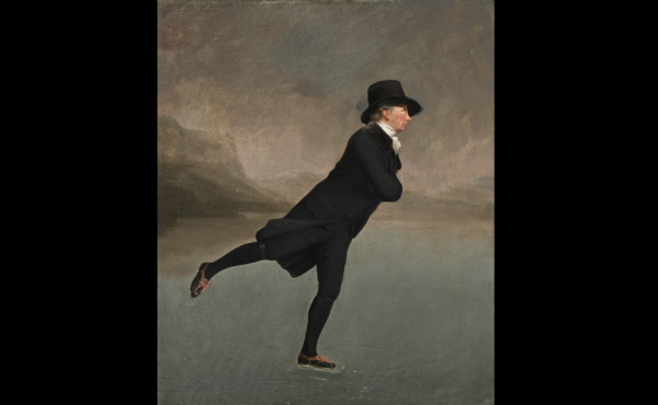 Painting of the Skating Minister the Rev Robert Walker