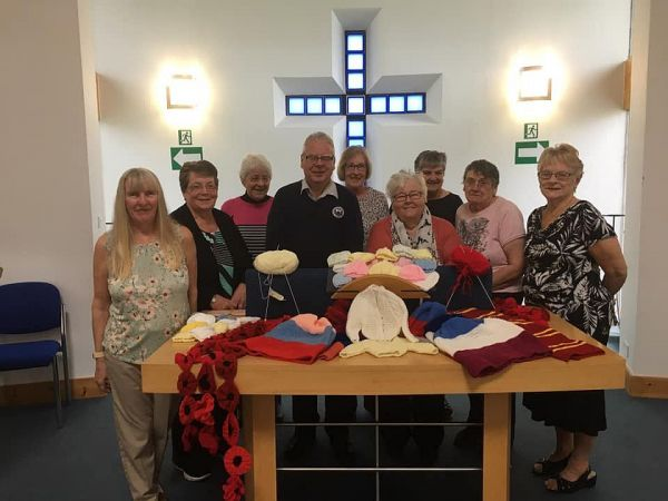 The knit and natter group