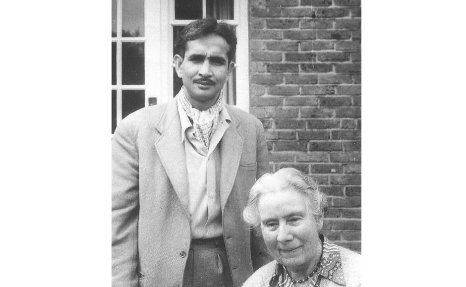 Paul Raschid Sr. and Edith Ewart 1962. Alongside her husband Douglas, the Ewarts were missionaries in Rajshahi which is now in Bangladesh.