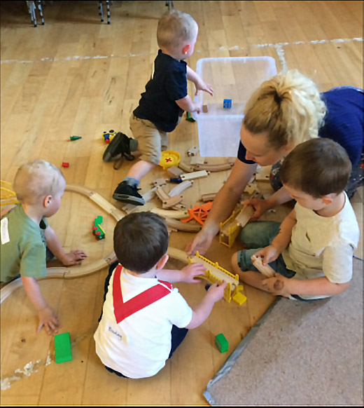 Parent and toddler group in Lanarkshire