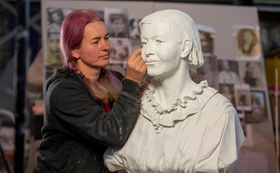 Mary Slessor Bust