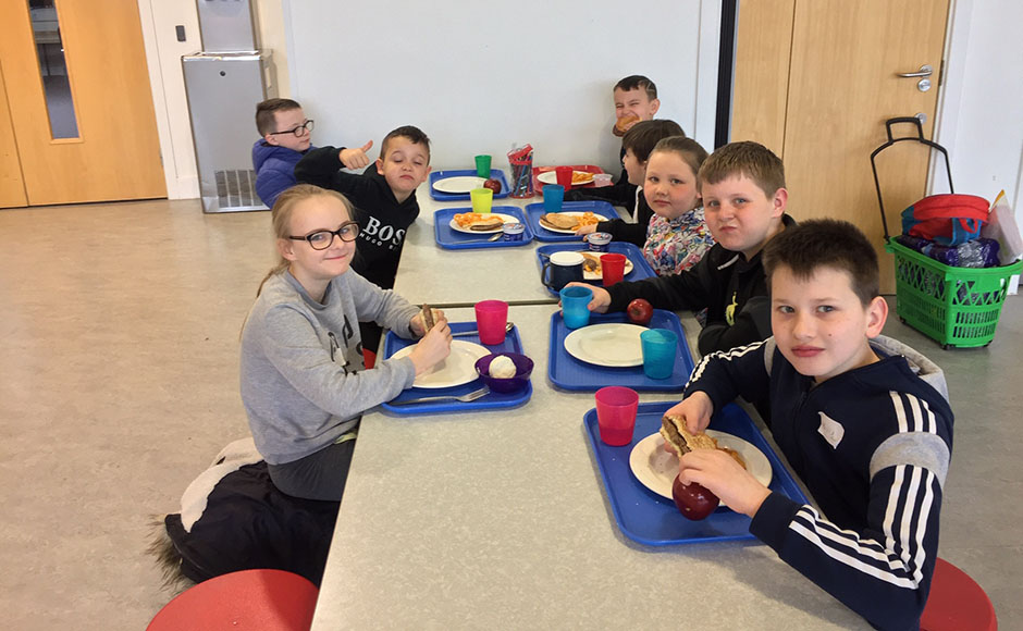 Children at St Mark's Church's holiday club