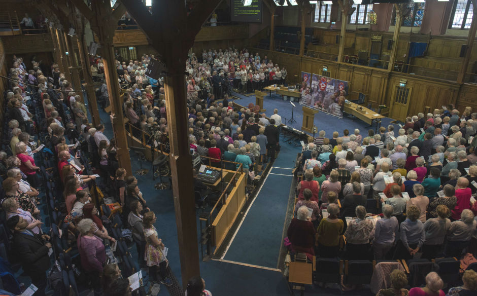 The Guild Big Sing at Assembly Hall in Edinburgh