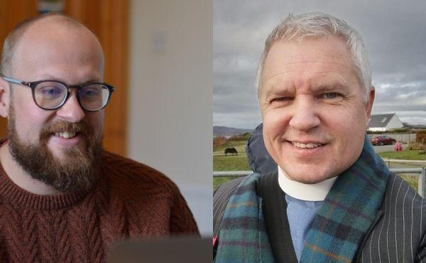 Rev Andrew Barrie and Rev Scott Burton
