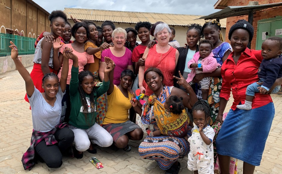 Guild members visited the Journeying Together project in Zambia in early 2020.